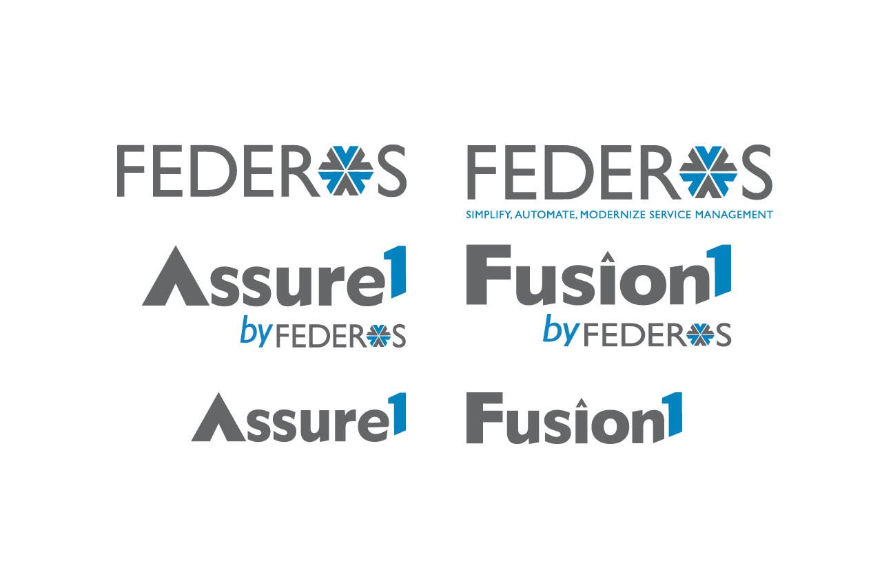 Rebranding Initiative for Federos & Assure 1 Tool, Logos with Taglines