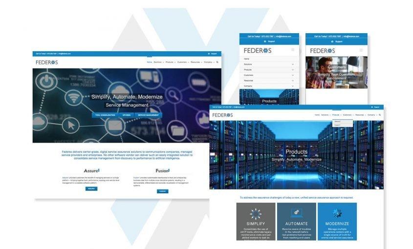 Rebranding Initiative for Monolith Software - Federos Website Redesign