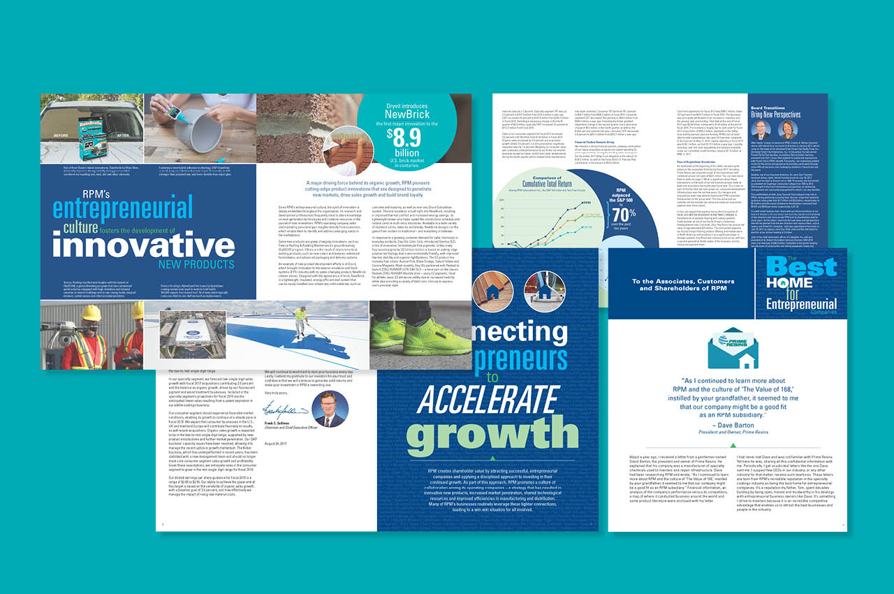 Annual Report Highlights RPM International's Aquisitional Strategy