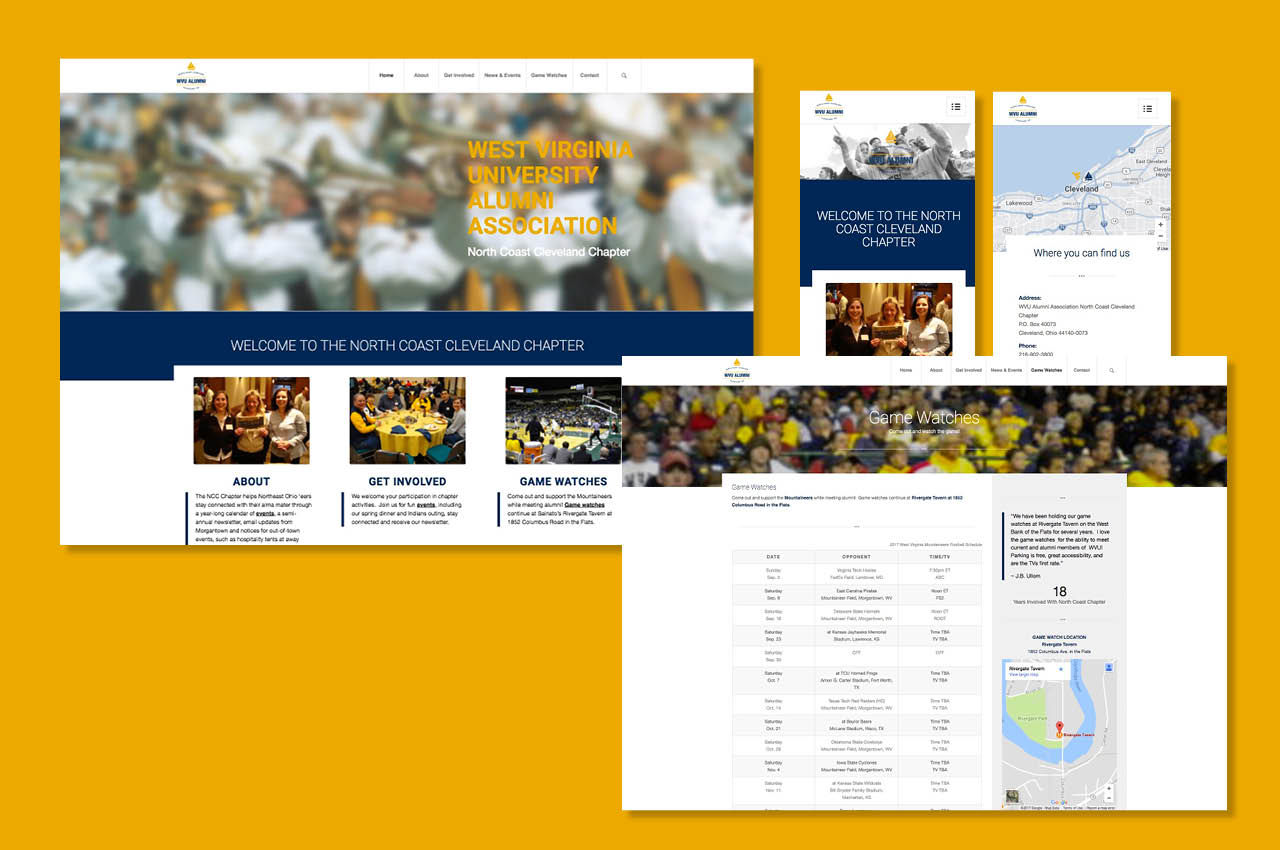 Developing a Mobile-Friendly Website for an Alumni Association