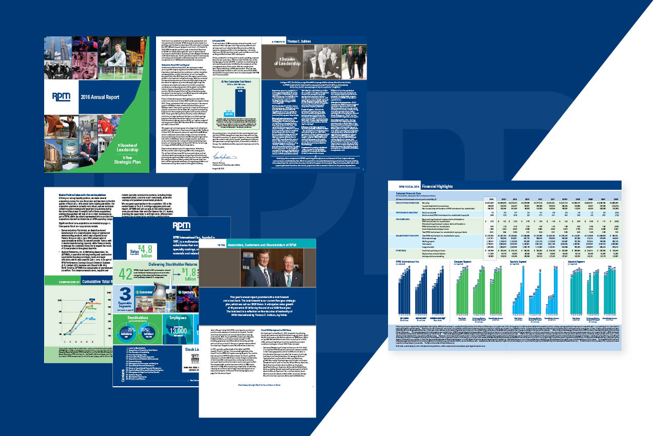 Annual Report Highlights RPM International's Financial Outlook