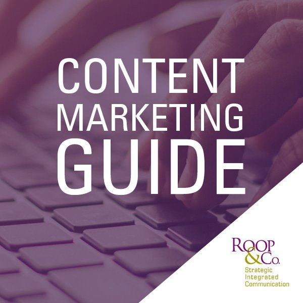 Download Button for Content Marketing E-Book