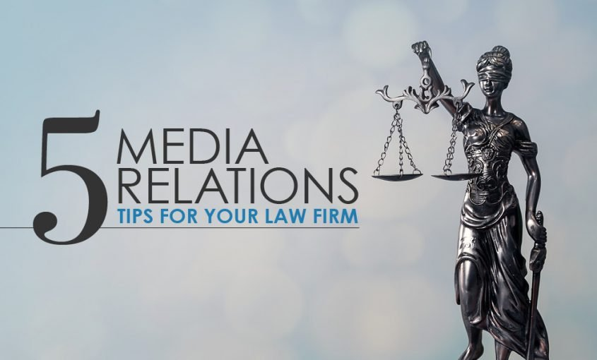 5 Key Tips for Your Law Firm's Media Relations Strategy | Roop & Co.