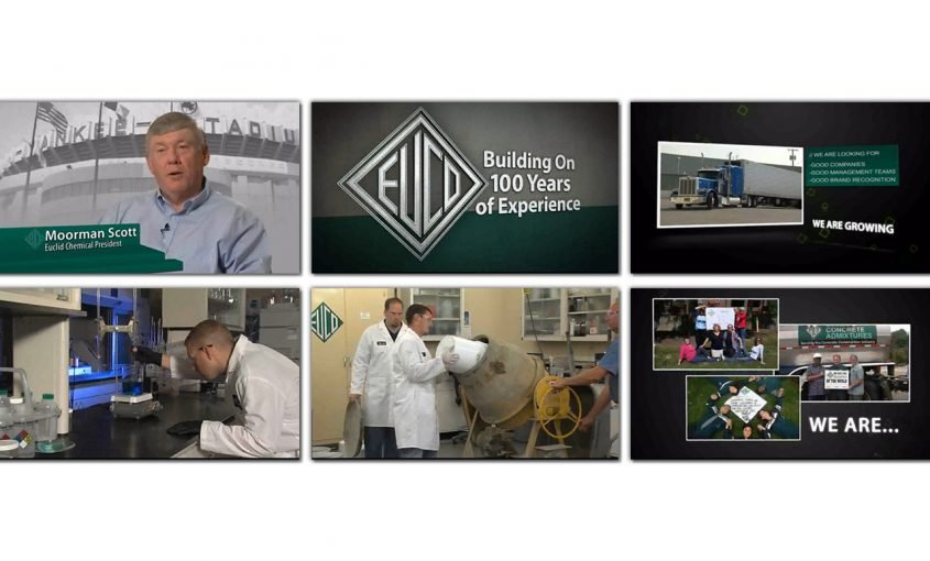 Producing a Video to Celebrate Chemical Company's Anniversary