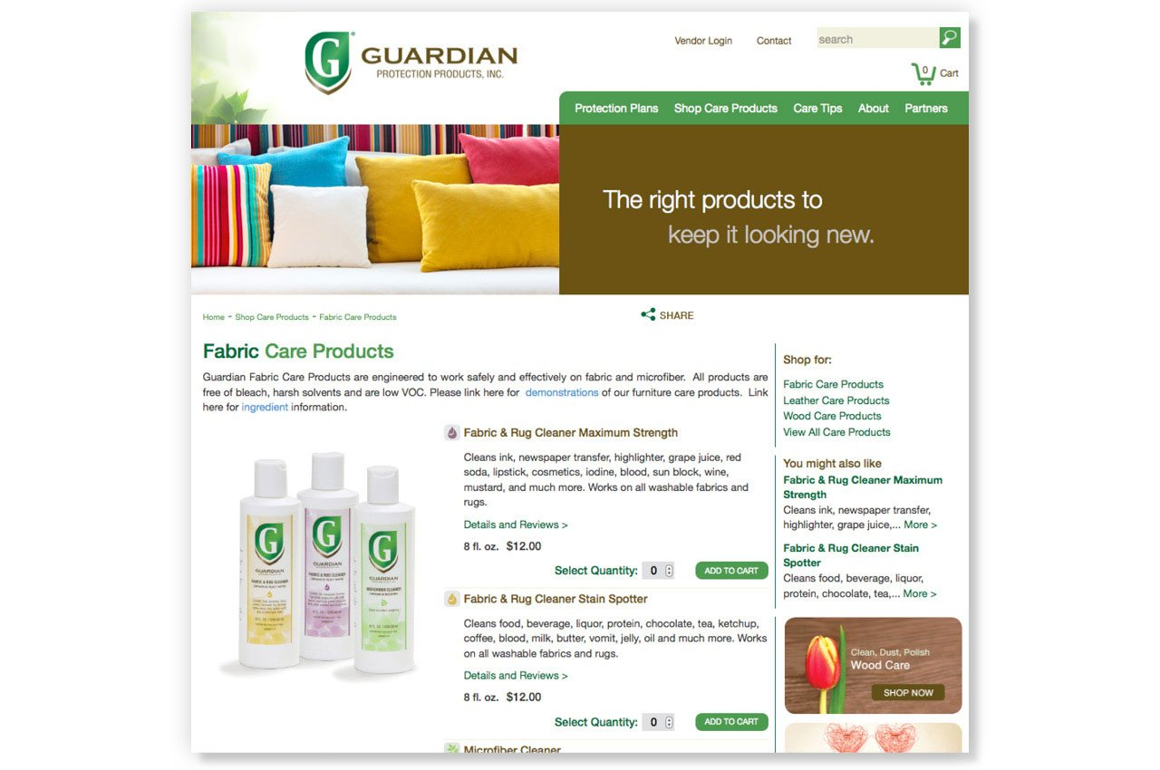 New Website Drives Sales for Guardian Protection Products