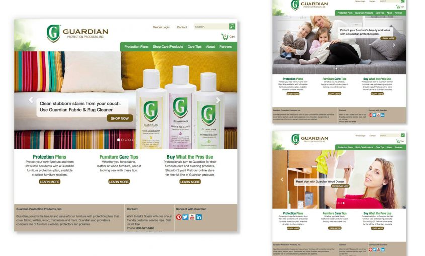 New Website Boosts Sales for Guardian Protection Products