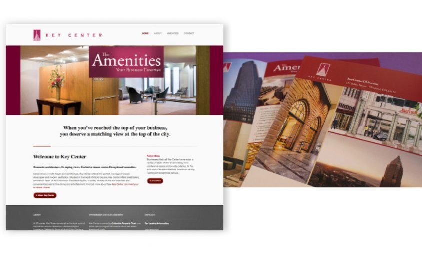 Website and Brochure for Marketing Real Estate | Roop & Co.