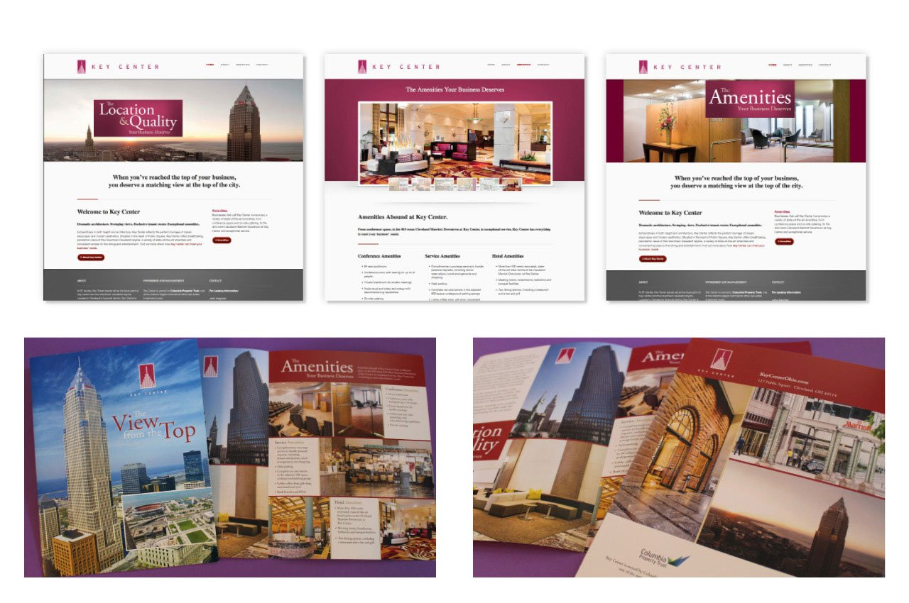 Marketing a Real Estate Property with a Website and Brochure | Roop & Co.