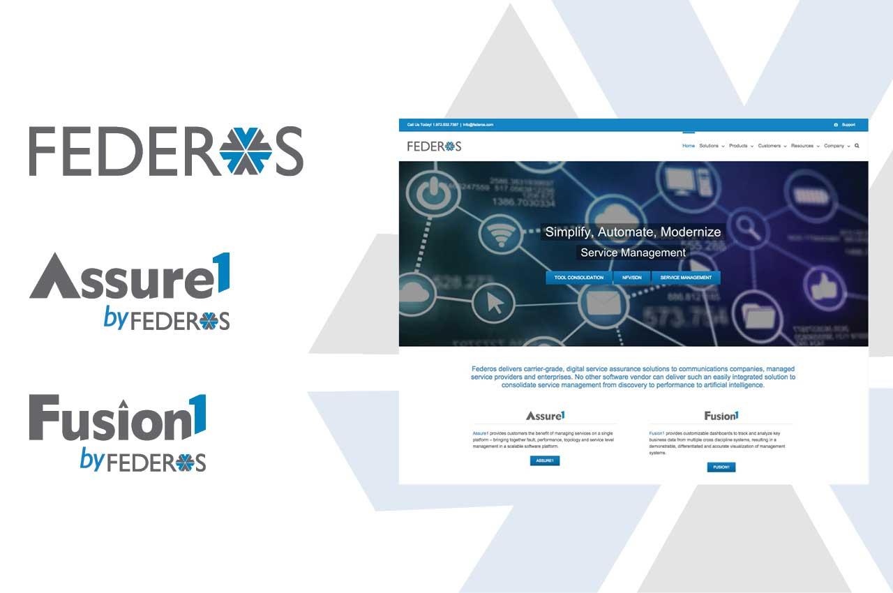 rebranding case study | Federos Monolith software company