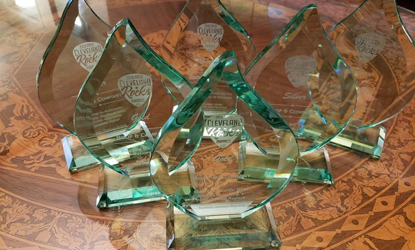 Roop & Co. Wins Six Awards at 2018 PRSA Cleveland Rocks Awards